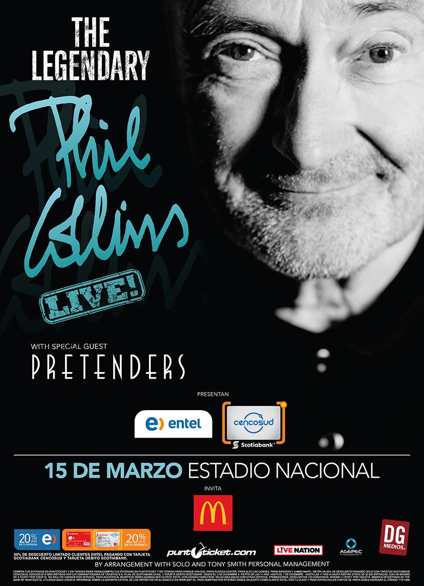 Phil Collins confirma nuevo concierto en Argentina – Radio Pop