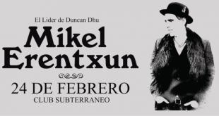 Mikel Erentxun en Chile