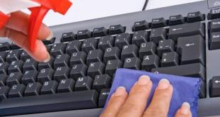 ¿Conoces el peligro de un teclado sucio?
