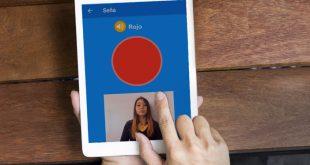 Estudiante creó aplicación móvil para aprender lenguaje de señas