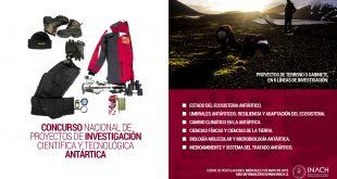 Abren Concurso Nacional de Proyectos de Investigación Científica y Tecnología Antártica 2018