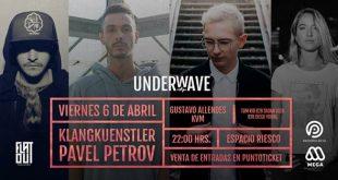 """Se inicia la segunda Preventa para fiesta Techno """"UNDERWAVE"""" y se suman nuevos DJ's"""