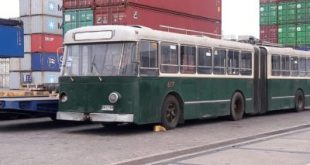 Trolebús de Valparaíso fue enviado a Europa para su restauración
