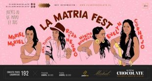 ¡Ana Tijoux, Mariel Mariel, Evelyn Cornejo y Mákina Kandela juntas en la Matria Fest!