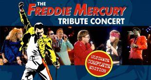 20 de abril de 1992, se realiza un gran homenaje a Freddie Mercury