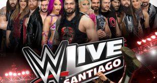 WWE regresa a Chile con WWE LIVE SANTIAGO® el próximo 5 de diciembre a Movistar Arena