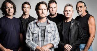 El nuevo disco de Pearl Jam saldrá a la luz el 2019