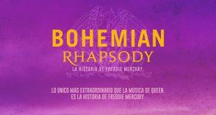 BOHEMIAN RHAPSODY  Estreno en Chile: jueves 1 de noviembre 2018