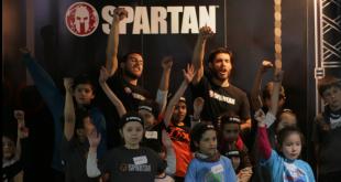 Niños se lucieron en el primer entrenamiento de Spartan