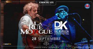 De vuelta a los 90s en Club Chocolate: La Rue Morgue y De Kiruza en vivo