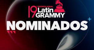 Warner Music anuncia sus nominados a la 19ª entrega anual de los Latin Grammy