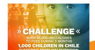 Lanzan aplicación Burn to Give: Un aporte real a los niños con malnutrición a través del deporte y la solidaridad