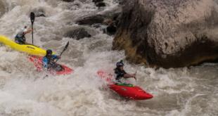 Centenar de asistentes vibran en el campeonato de Kayac más extremo del mundo en el Cajón del Maipo