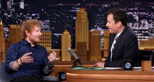 Jimmy Fallon Imparable! ahora intepretó Shape of You con Ed Sheeran