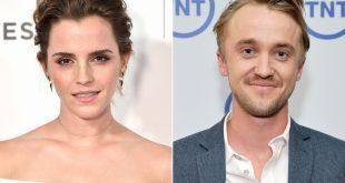 Emma Watson arrasa en las redes sociales con foto de su reencuentro con Tom Felton