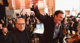 """Ennio Morricone en contra Quentin Tarantino: """"Es un cretino"""""""