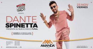 "Dante Spinetta presenta su nuevo disco ""PUÑAL"""