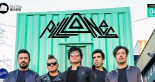 """""""Pillanes"""" anuncia show en Concepción."""