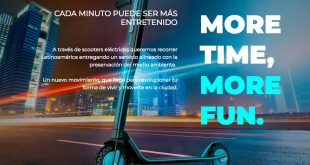 HOPSCOOTER, el emprendimiento chileno del monopatín eléctrico, estará en Festival Internacional de Innovación Social