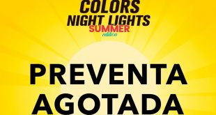 Se agota preventa para Colors Night Lights Summer Edition