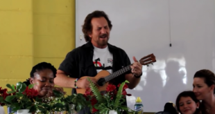 Eddie Vedder vuelve a Sudáfrica y realiza cover de The Beatles