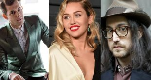 "Miley Cyrus, Mark Ronson y Sean Ono Lennon realizan nueva versión de ""Happy Xmas (War Is Over)"""