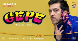 Gepe presenta floclore imaginario en Club Amanda
