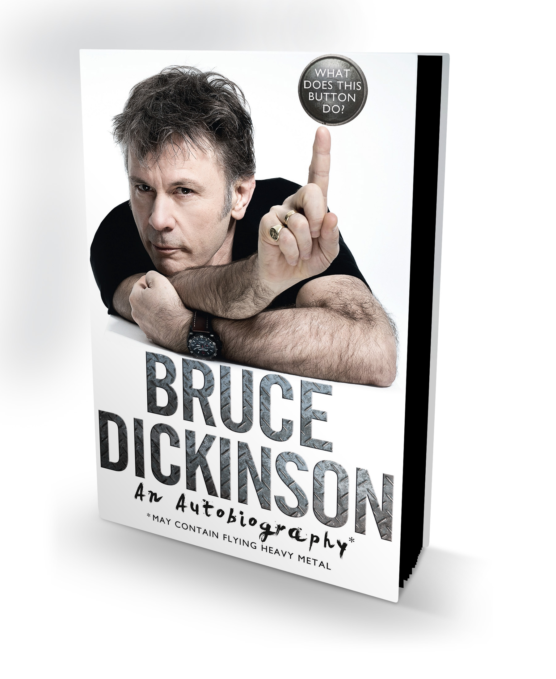 Bruce Dickinson En Chile What Does This Button Do